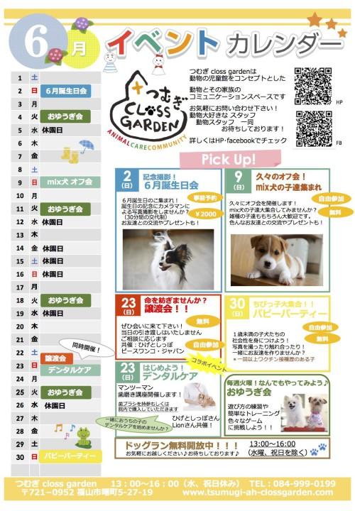 2019.06イベントカレンダー